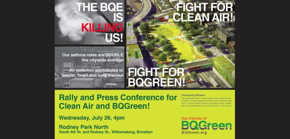 BQGreen Rally 7/26